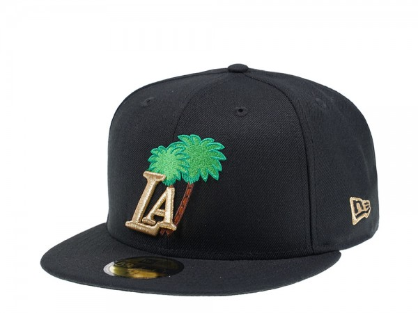 New Era Los Angeles Lakers Palm Tree Gold Edition 59Fifty Fitted Cap