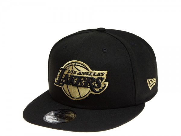New Era Los Angeles Lakers All about Black and Gold 9Fifty Snapback Cap