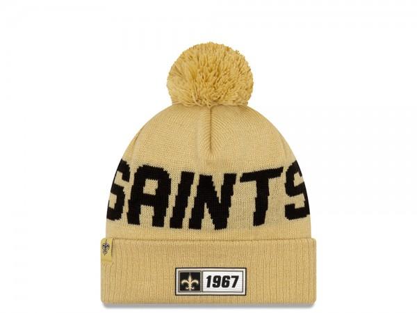 New Era New Orleans Saints Sideline 2019 Road Reversible Color Mütze