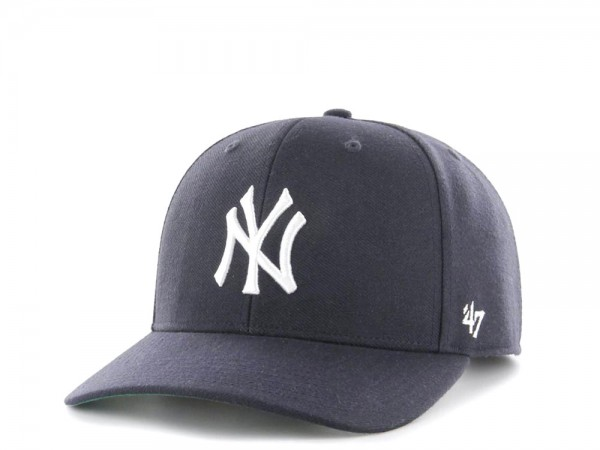 47Brand New York Yankees Cold Zone MVP DP Navy Snapback Cap
