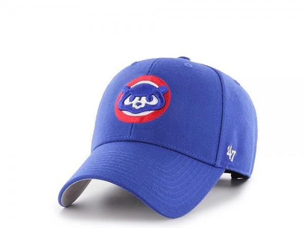 47brand Chicago Cubs Royal MVP Strapback Cap