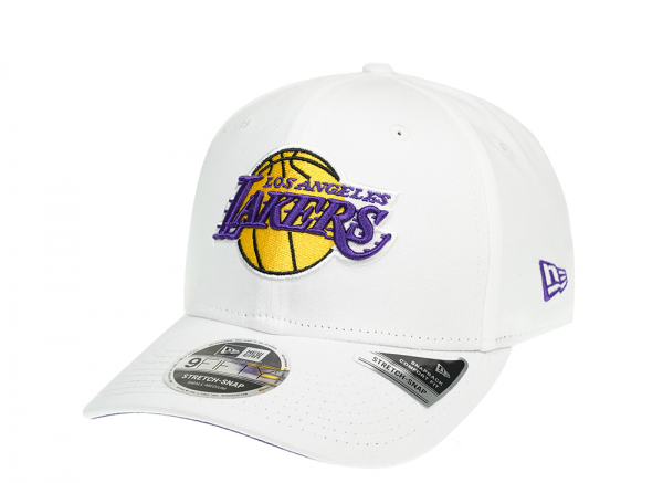 New Era Los Angeles Lakers Fresh White 9Fifty Cap