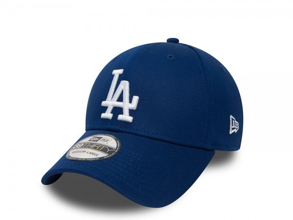 New Era Los Angeles Dodgers League Basic Blue Stretch Fit 39Thirty Cap