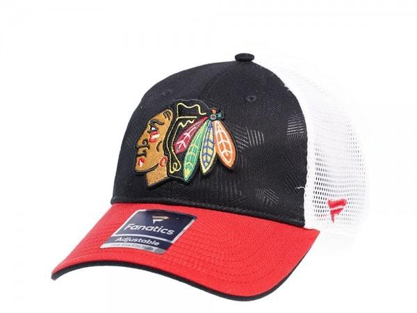 Fanatics Chicago Blackhawks Iconic Trucker Snapback Cap