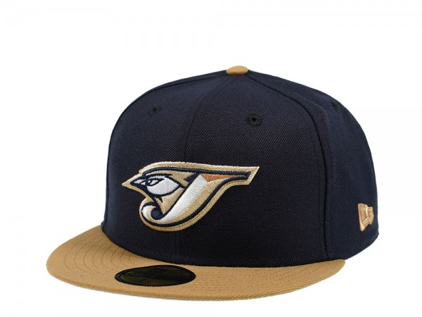 New Era Toronto Blue Jays Navy and Wheat Edition 59Fifty Fitted Cap