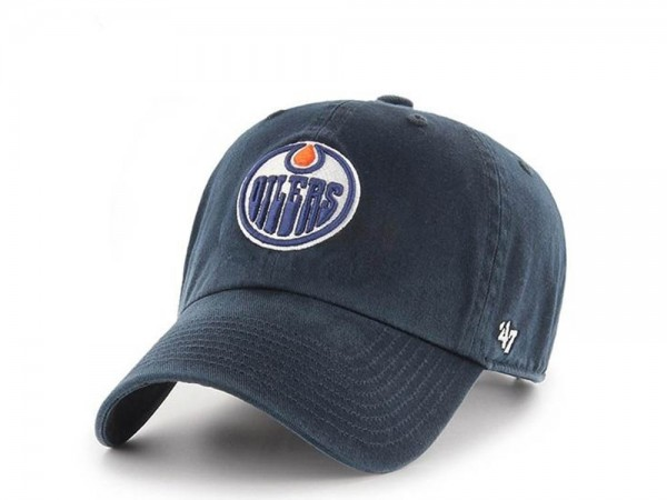 47brand Edmonton Oilers Clean up Strapback Cap