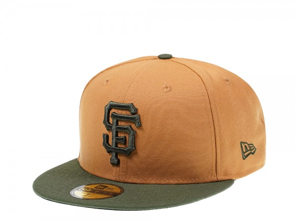 New Era San Francisco Giants Panama Green Edition 59Fifty Fitted Cap