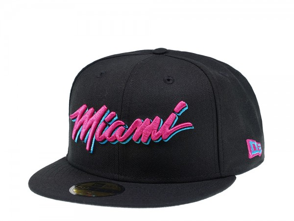 New Era Miami Heat Vice Edition 59Fifty Fitted Cap