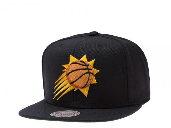 Mitchell & Ness Phoenix Suns Black Snapback Cap