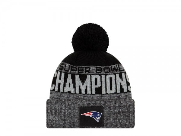 Super Bowl 53 Parade Knit - New Era New England Patriots Mütze