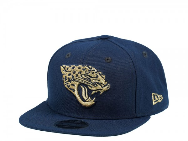New Era Jacksonville Jaguars Original Fit Blue and Gold Edition 9Fifty Snapback Cap