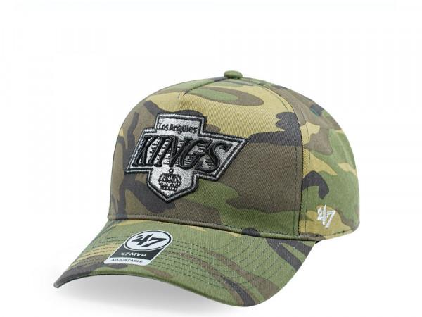 47Brand Los Angeles Kings Camo Grove MVP DT Snapback Cap