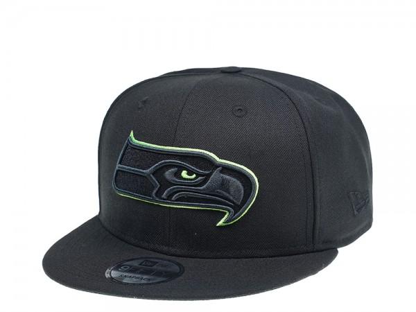 New Era Seattle Seahawks Green Action 9Fifty Snapback Cap