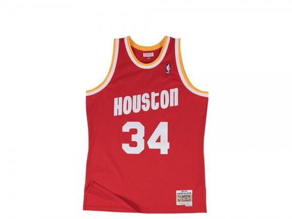 Mitchell & Ness Houston Rockets Hakeem Olajuwon Swingman Jersey 2.0
