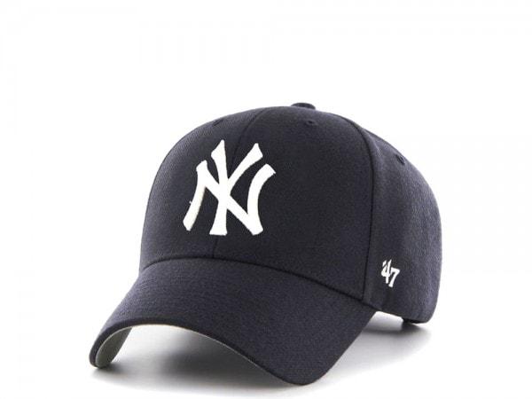 47brand New York Yankees MVP Curved Strapback Cap