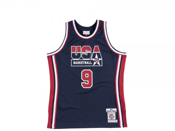 Mitchell & Ness Dream Team - Michael Jordan Authentic Jersey Navy