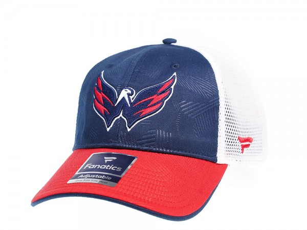 Fanatics Washington Capitals  Iconic Trucker Snapback Cap