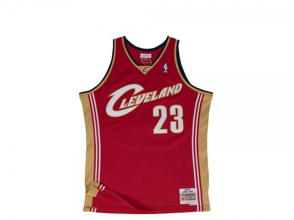 Mitchell & Ness Cleveland Cavaliers - Lebron James Swingman 2003-04 Home Jersey