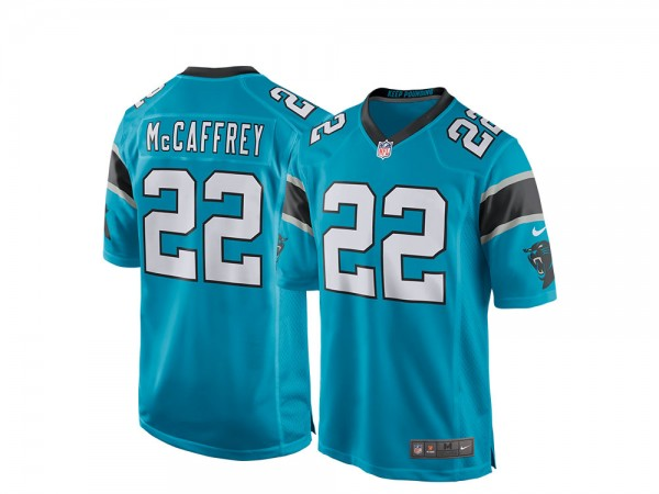 Nike Carolina Panthers Christian McCaffrey Alternate Game NFL Jersey