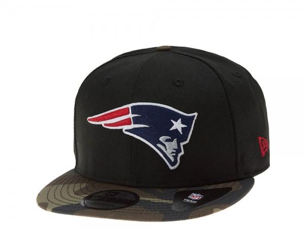 New Era New England Patriots Camo Black Snapback 9Fifty