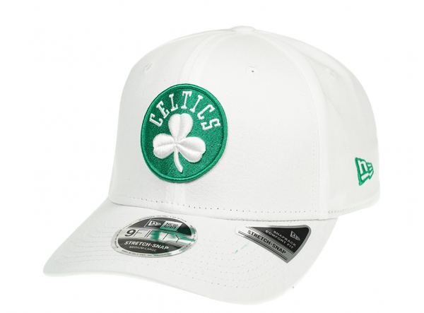 New Era Boston Celtics Fresh White 9Fifty Cap