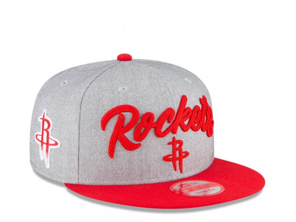 New Era Houston Rockets NBA Draft 20 9Fifty Snapback Cap