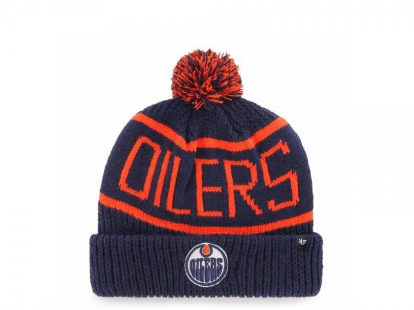 47 Brand Edmonton Oilers Calgary Cuff Mütze