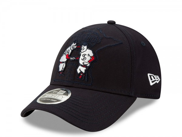 New Era Minnesota Twins Elements Edition 9Forty Stretch Snapback Cap