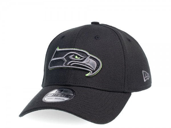 New Era Seattle Seahawks Green Action 39Thirty Stretch Cap