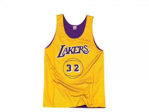Mitchell & Ness Los Angeles Lakers - Magic Johnson Reversible Mesh Tank Top Jersey