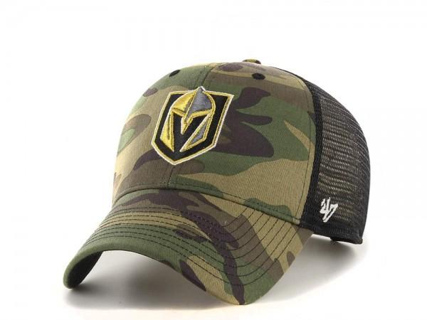 47brand Vegas Golden Knights Trucker Snapback Cap