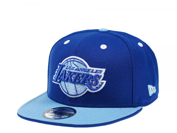 New Era Los Angeles Lakers All About Blue Edition 9Fifty Snapback Cap