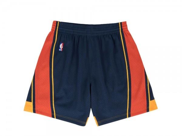 Mitchell & Ness Golden State Warriors Swingman Shorts Navy