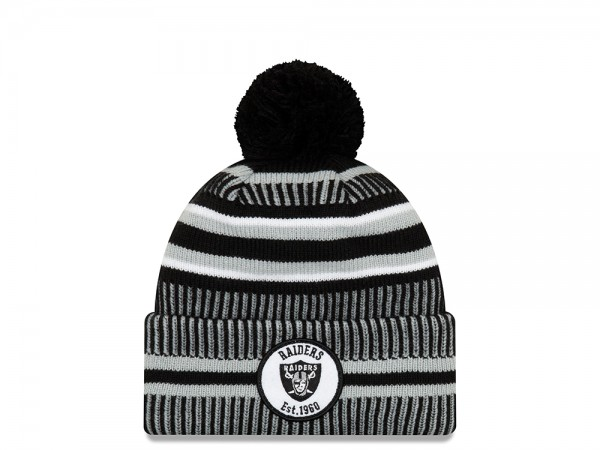 New Era Oakland Raiders Sideline 2019 Home Mütze
