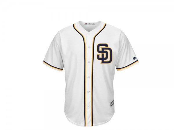 Majestic San Diego Padres Cool Base MLB Trikot weiß