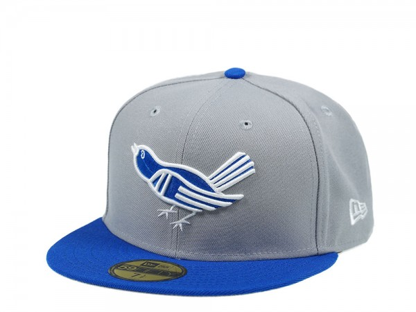 New Era Baltimore Orioles Gray and Blue Edition 59Fifty Fitted Cap