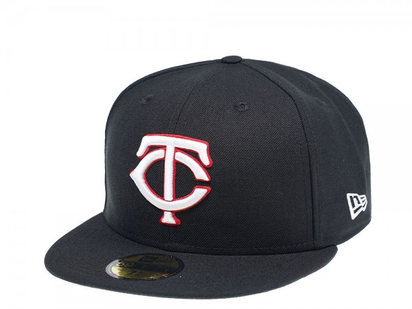 New Era Minnesota Twins Black Edition 59Fifty Fitted Cap