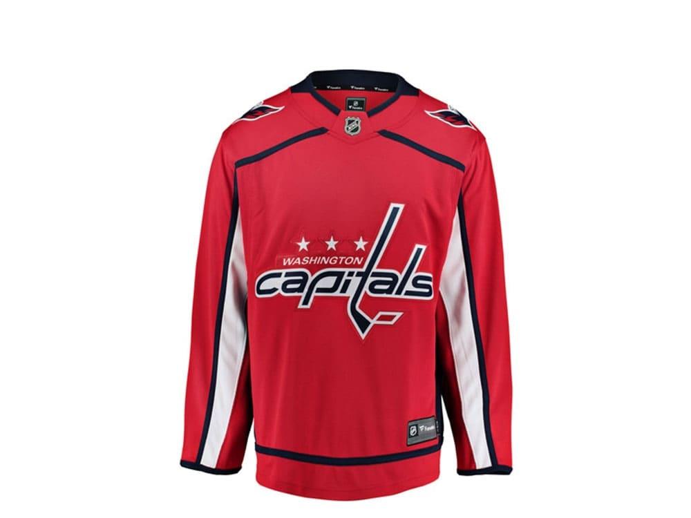 Washington Capitals Trikot Home Fanatics Breakaway NHL Jersey