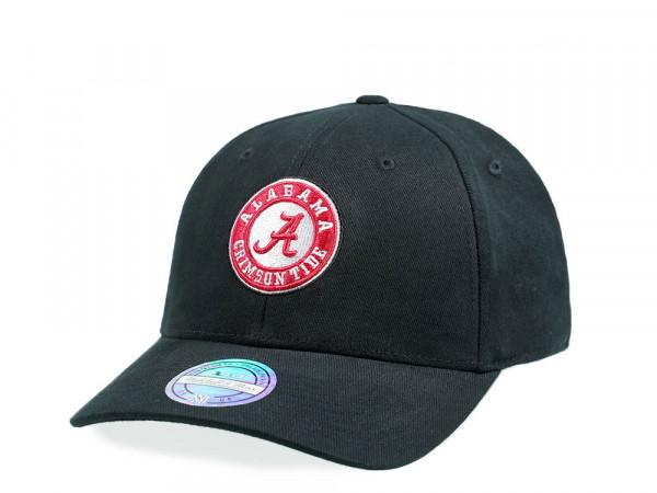 Mitchell & Ness Alabama Crimson Tide Circle Patch 110 Flex Snapback Cap