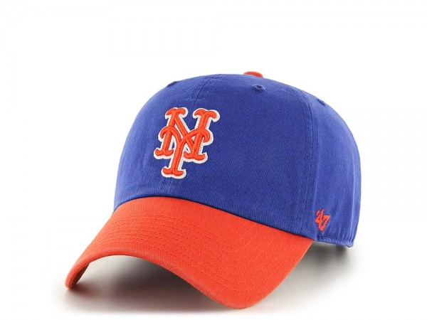 47Brand New York Mets Clean Up Two Tone Strapback Cap