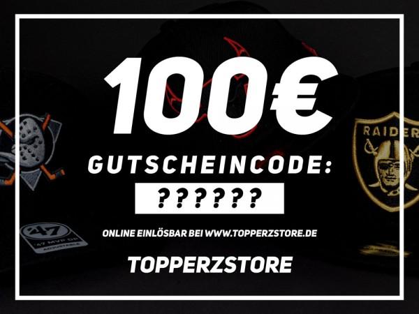 Topperz Gutschein 100 EURO