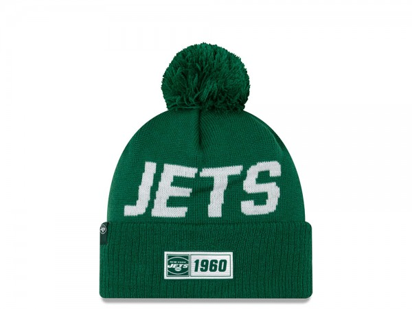 New Era New York Jets Sideline 2019 Road Mütze