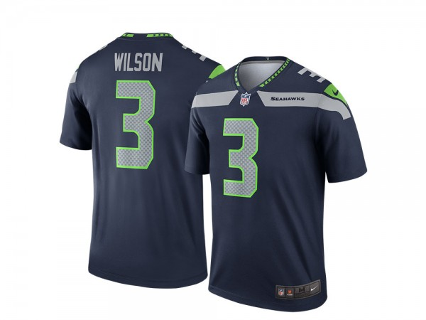 Nike Seattle Seahawks Russell Wilson Home Legend NFL Jersey