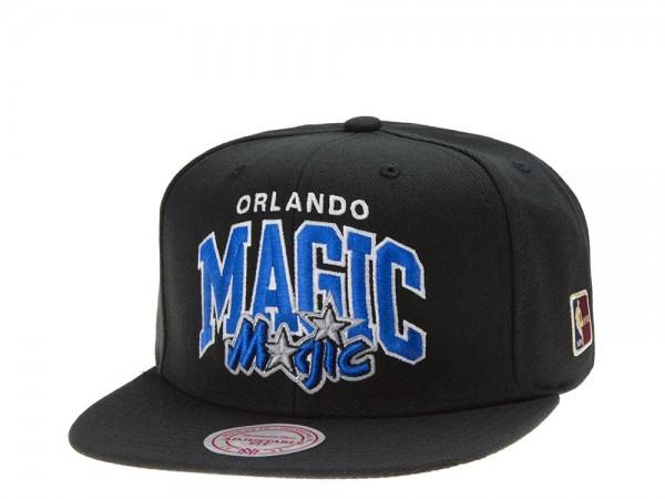 Mitchell & Ness Orlando Magic Team Arch black Snapback Cap