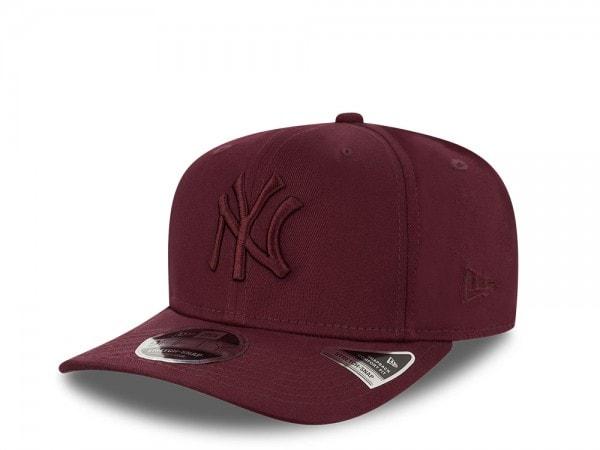 New Era New York Yankees All Maroon 9Fifty Stretch Snapback Cap
