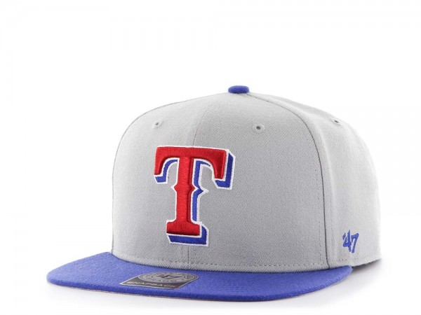 47Brand Texas Rangers Sure Shot Captain Two Tone Snapback Cap