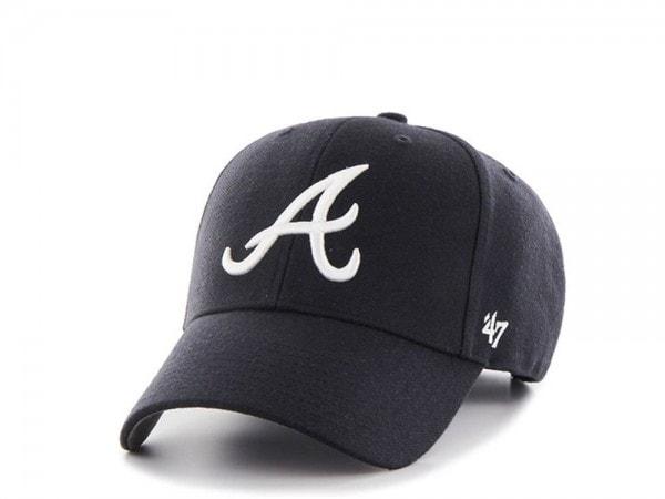 47brand Atlanta Braves MVP Snapback Cap