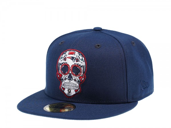 New Era New England Patriots Skull Edition 59Fifty Fitted Cap
