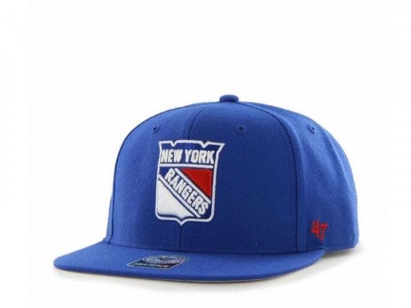 47brand New York Rangers Sure Shot Captain Snapback Cap