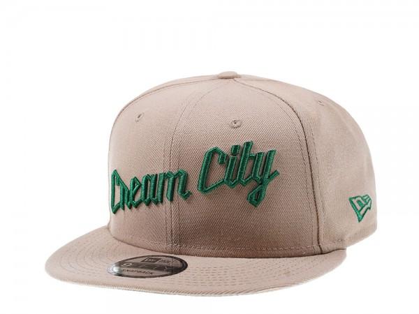New Era Milwaukee Bucks  Cream City 9Fifty Snapback Cap